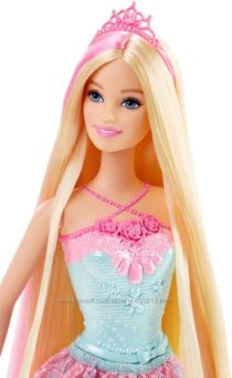 Розовая  Барби Barbie Endless Hair Kingdom Princess Doll
