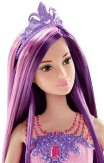 Фиолетовая Барби Barbie Endless Hair Kingdom Princess Doll