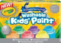 Смываемые краски Crayola металлические