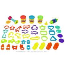 Набор с формочками, текстурными валиками Play Doh Super Molding Mania Toy