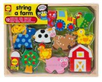 Шнуровка Ферма ALEX Toys