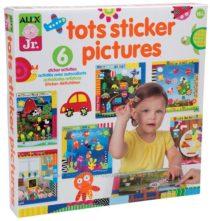 Наклейки Алекс Тойс для самых маленьких ALEX Jr. Tots Sticker Pictures