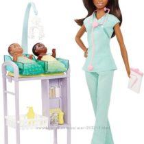 Барби врач-педиатр Barbie Careers African American Baby Doctor