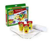 Пальчиковые краски My First Crayola Finger Paint Kit
