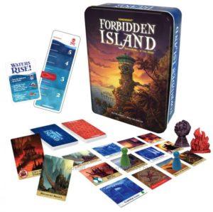 Настольная семейная кооперативная игра Forbidden Island Запретный остров