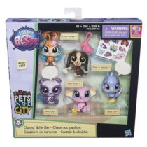 Littlest Pet Shop Multi Pet Pack. Упаковка Литлест Шоп с пятью зверушками.