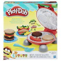Play-Doh Burger Barbecue Toy. Плей до Бюргер-Барбекю.