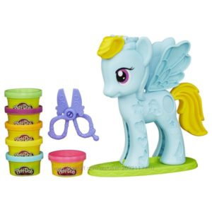 Литл Пони Play-Doh My Little Pony Rainbow Dash Style Salon Playset