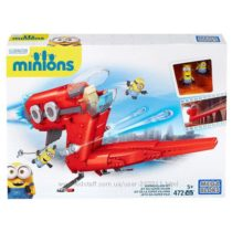Конструктор Mega Bloks Minions Supervillain Jet Самолет Суперзлодея