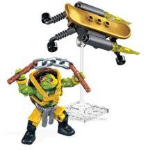 Mega Bloks Teenange Mutant Ninja Turtles Out of The Shadows Mikey Turbo