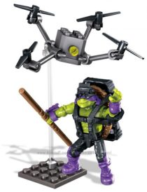 Mega Bloks Teenange Mutant Ninja Turtles Out of The Shadows Donnie Drone