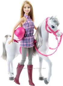 Барби с лошадью Barbie Doll & Horse