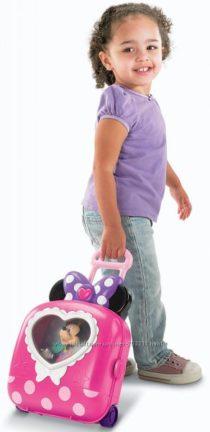 Салон Минни с чемоданчиком Fisher-Price Disneys Minnies Fashion on The Go
