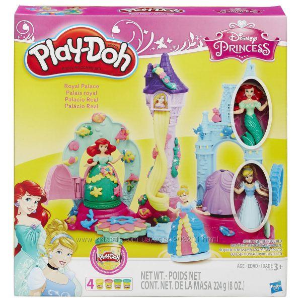 Замок Принцесс Play-Doh Royal Palace Featuring Disney Princess