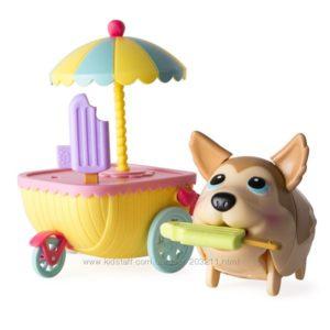Хаски тележка с мороженым. Chubby Puppies & Friends – Husky Ice Cream Cart.