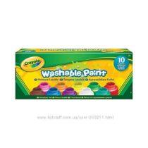 Набор красок Crayola Крайола 10 баночек классические цвета