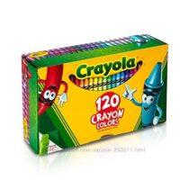 Crayola восковые карандаши 120 штук, точилка. Уникальные цвета.