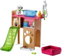 Уголок домашнего питомца Barbie Pet Station & Puppy Playset
