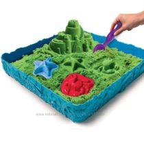 Кинетический песок – набор замок