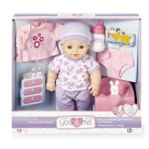 Интерактивная кукла с аксессуарами You & Me Drink and Wet Baby Doll
