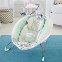 Детский шезлонг Fisher-Price Moonlight Meadow Deluxe Bouncer