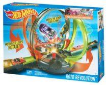 Hot Wheels Roto Revolution. Трек Hot Wheels Революционные гонки FDF26