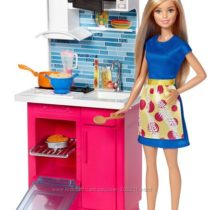 Barbie Doll & Kitchen Furniture. Барби с кухней.