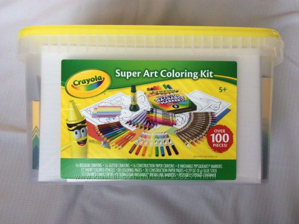Nabor Krajola Super Tvorchestvo Crayola Super Art And Craft Kit Kupit Nabor Krajola Super Tvorchestvo Crayola Super Art And Craft Kit Original