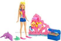Барби Магия дельфинов Сокровища Barbie Dolphin Magic Ocean Treasure Playset