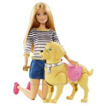 Набор Барби Прогулка с щенком Barbie Girls Walk and Potty Pup