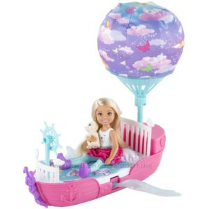 Barbie Chelsea Dreamtopia Vehicle Челси и ее сказочный корабль