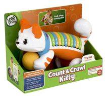 Развивающая музыкальная игрушка котенок LeapFrog Count&Crawl number Kitty