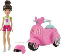 Барби В Движении, со скутером.