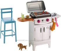 Барби набор для Барбекю Barbie BBQGrill Furniture & Accessory Set