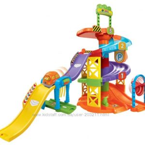 Трек с машинкой VTech Go Go Smart Wheels Spinning Spiral Tower