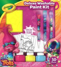 Набор для творчества Тролли со смываемыми красками Trolls Deluxe