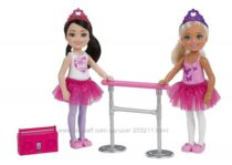 Barbie Club Chelsea Ballet Набор куколок Челси балерины