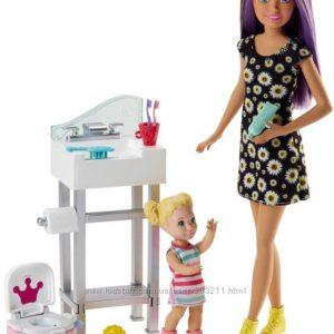 Barbie Skipper Babysitting Potty Training Playset Скиппер няня Барби