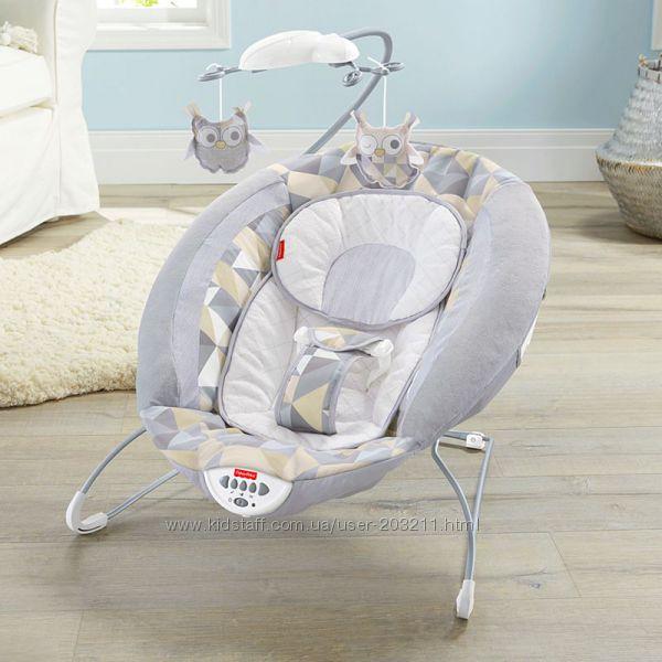 Детский шезлонг, кресло-качалка Fisher-Price Deluxe Twilight Twinkle Bouncer