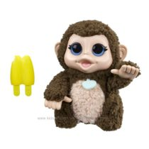 Интерактивная обезьянка с бананом Хасбро FURREAL FRIENDS LIL´ BIG PAWS GIDDY BANANA MONKEY