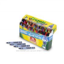 Восковые карандаши 100 штук, точилка Крайола.