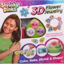 Набор для создания объемных украшений Shrinky Dinks 3D Flower Jewelry Alex
