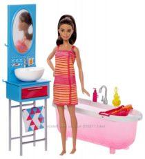 Набор Барби Роскошная ванная комната Barbie Doll& Bathroom Furniture Уценка