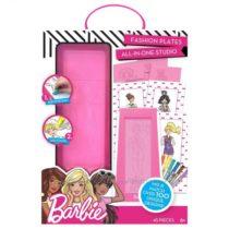 Набор с пластинами для рисования Барби Barbie Fashion Plate Kit