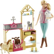 Набор игровой Барби ветеринар Barbie Farm Vet Doll Playset