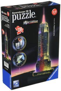Пазл-ночник 3D Ravensburger Ночной Empire State Building