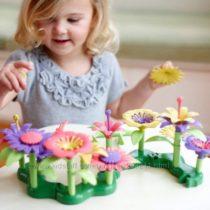 Эко игрушка Green toys Конструктор построй букет 44 детали