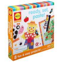 Набор для малышей аппликация ALEX Discover Ready, Set, Paste