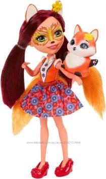 Кукла Энчантималс Фелисити Фокс лисичка лиса Enchantimals Felicity Fox Doll