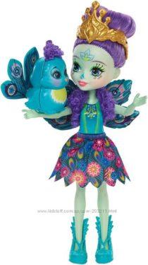 Enchantimals Patter Peacock Doll Кукла-павлин Enchantimals Пэттер Пикок